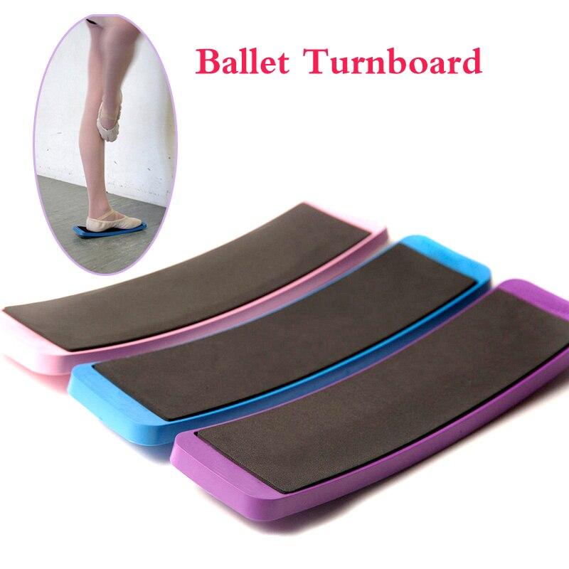Vijolična plošča za odrasle Pirouette Baletne plošče za zavijanje Dance Spin stružni deski Izobraževanje vadijo orodja za kroženje Oprema