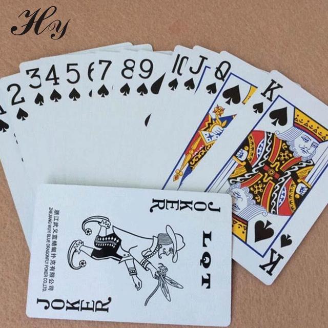 2 Unidades Poker Azul Tarjetas De Juego Juegos De Cartas Impermeable
