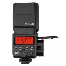 Em Estoque V350S Godox HSS 2.4G Camera Speedlite Flash TTL com Bateria Li-ion para Sony a7R a7RIII a7RII a58 a99 a77 II