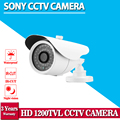 CCTV White Sony 1200TVL with IR-CUT filter 36pcs IR LEDS varifocal lens 3.6mm outdoor/indoor waterproof Security CCTV Camera