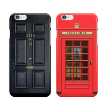 Sherlock Holmes Door 221B Phone Case for iPhone