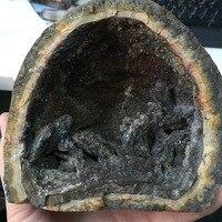1104g Kaba Akik Şifa Kristal feng shui Akik Geode numune Mineraller Doğal Taş feng shui Ev Dekorasyon Süsler