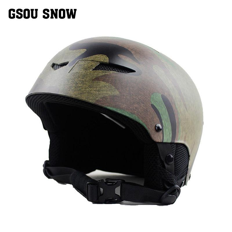 Moon Helmet Ski 2019 Fire Stamp Integrally-molded Outdoor Sports Covered With Ski Helmet Snowboard Ski Helmets Casque De Ski A39 Sports & Entertainment