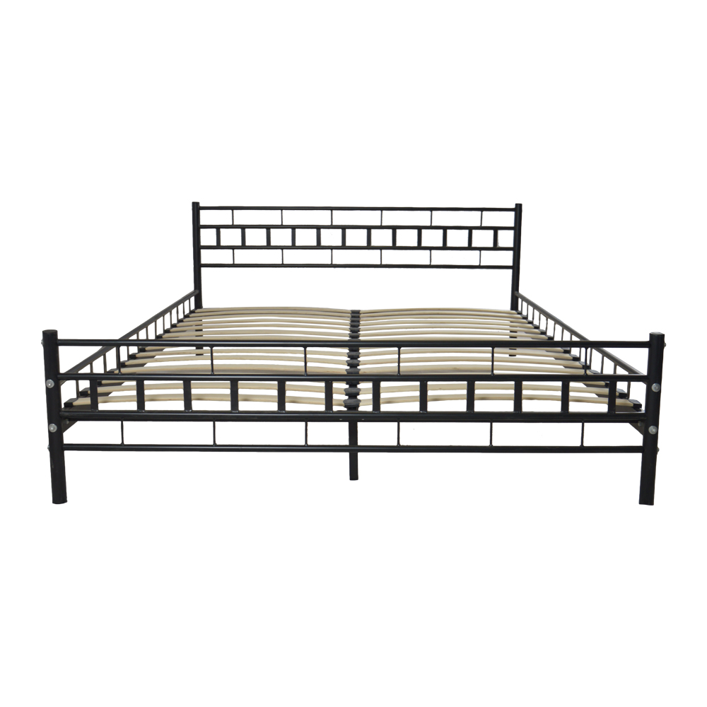 King Size Metal Bed Frame with Slat Dropshipping crushed velvet bed fabric upholstered chesterfield sleigh bed frame crystal diamond double 4ft6 5ft dropshipping