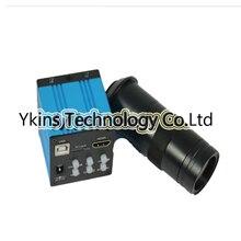 ФОТО 14mp hdmi microscope camera + 100x c bayonet lens for industrial lab pcb usb output tf card recorder