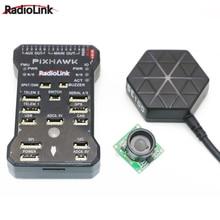 Original Radiolink M8N PIXHAWK Controlador de Vôo GPS Sensor Ultrassônico Su04 para AT9/AT10 Controlador Remoto Rc Zangão