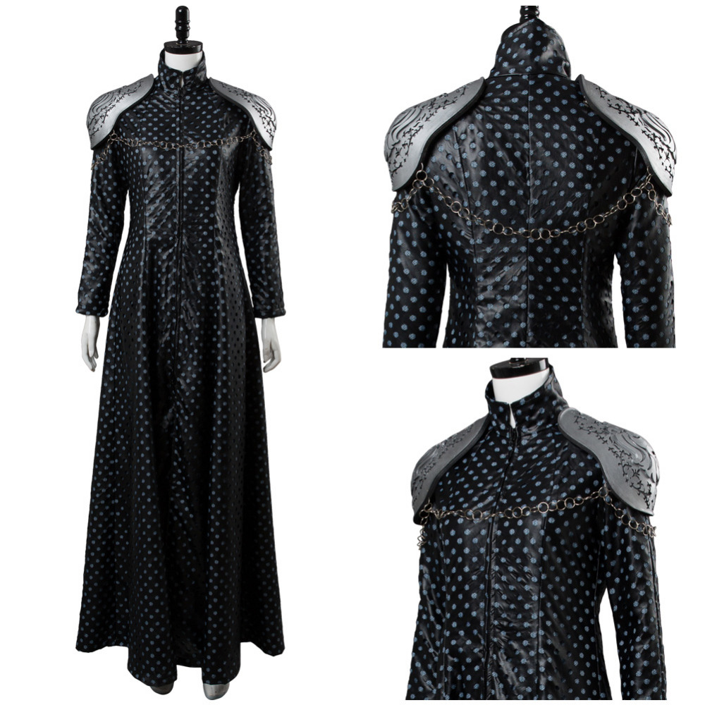 Game of Thrones Season 7 Cersei Lannister Cosplay costume adult Women Halloween costume Queen Cersei Lannister Dress Cosplay