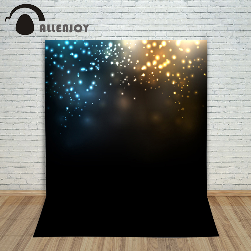 Allenjoy photo background Shiny spots black background children kids backgrounds for photo studio background for photo studio photo