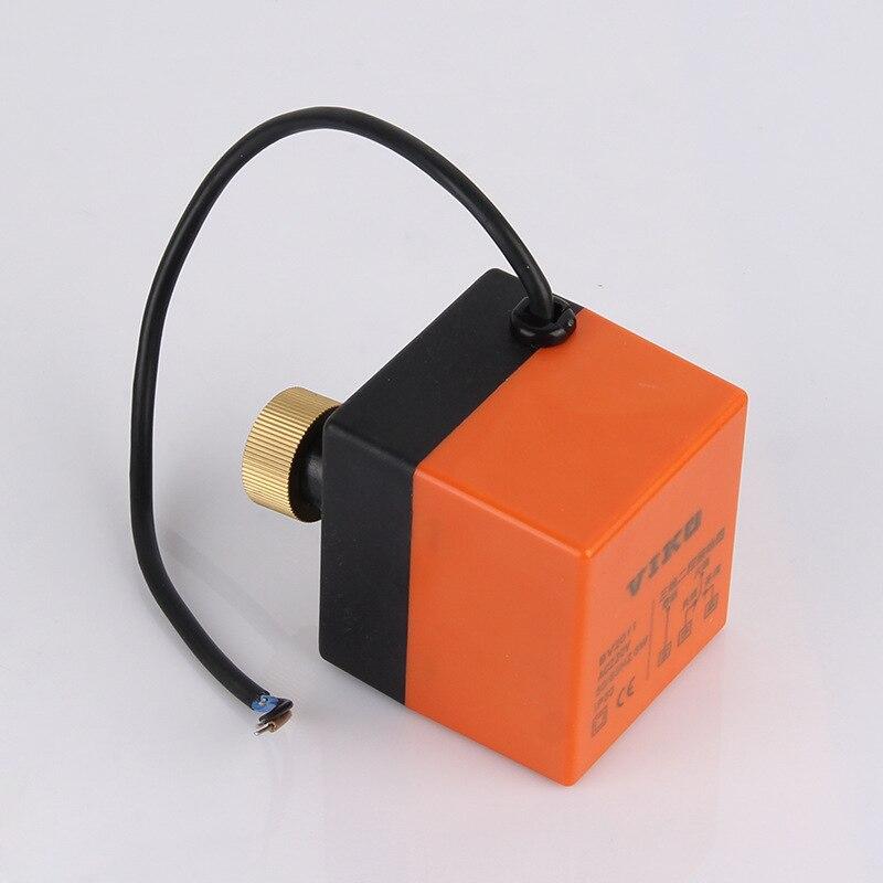 AC220 Trois-Fil électrique actionneur/commutateur de commande/motorisé pour la vapeur d'eau/chaleur gaz Motorisé Ball valve contrôleur