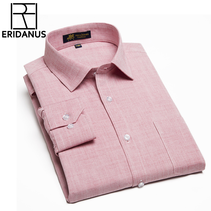 Nuevo Camisa para hombre Camisa casual de manga larga con cuello - Ropa de hombre