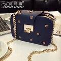 2016 nuevo estilo Coreano de las señoras de moda Hombro Messenger bag cadena bolsa con la impresión popular caliente BH1348