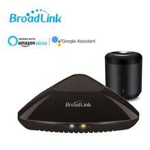 цена на 2019 BroadLink RM Pro+ Smart Universal Remote Control, Wireless Infrared & RF Remote via VOICE CONTROL ALEXA &GOOGLE HOME
