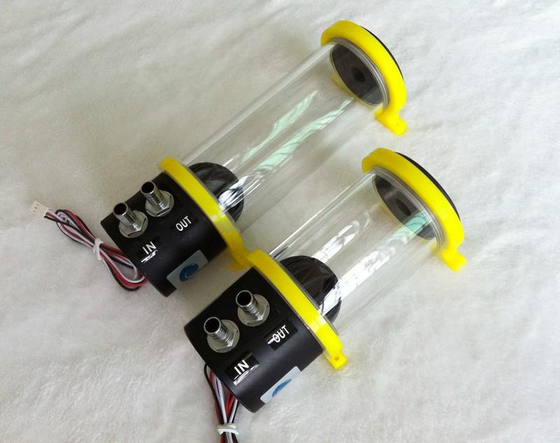 Prix pour Marque nouvelle ms - 500x A1 pompe à eau acrylique cylindrique pompe à eau du réservoir d'eau mis ddc pompe à eau 500L / H