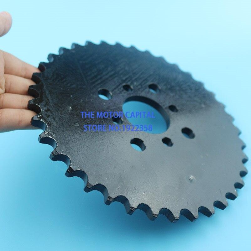 High performance 530 37 Dente 41mm placa