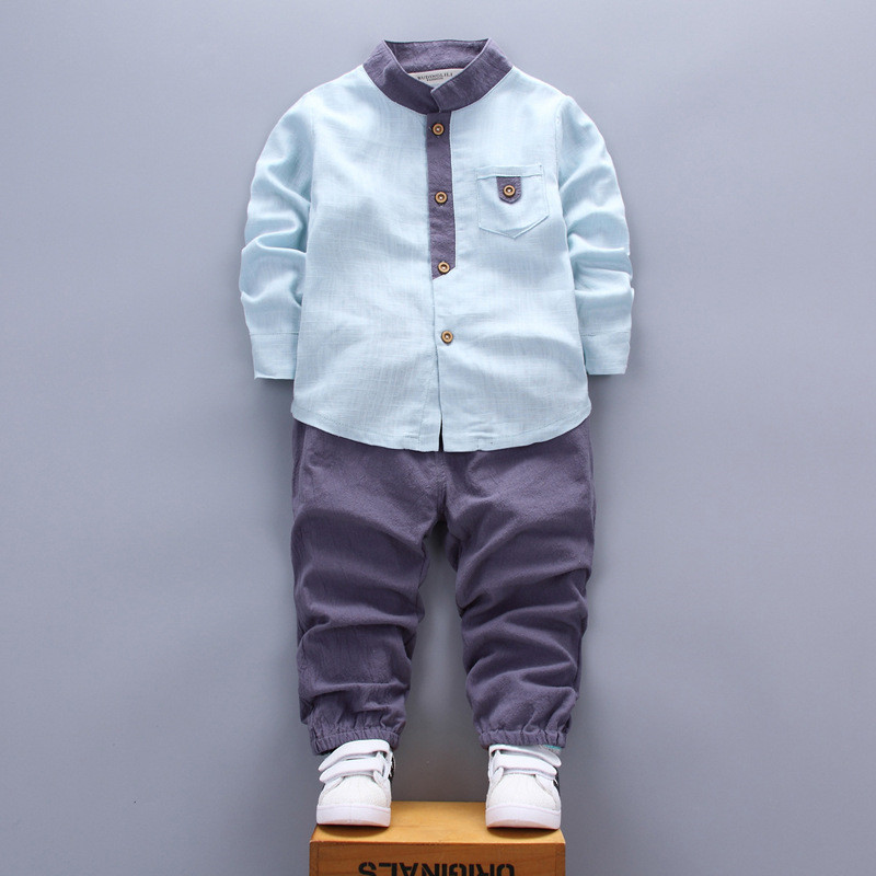 spring autumn boy clothing 2018 new fashion casual children baby boy clothing baby clothes shirt+pant 0-4 year boy clothing set dinstry infant clothing spring children s clothing 0 1 2 3 year old baby clothes spring and autumn t shirt romper 2pieces sets