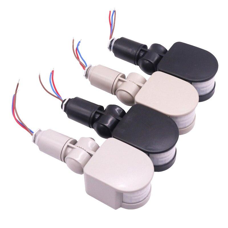 1 Pcs 85 V/265 V Et 12 V Commutateur de Capteur Infrarouge Corps Lumière de projection Capteur Sonde Jour Ou Nuit Travail Réglable Quatre Modèles