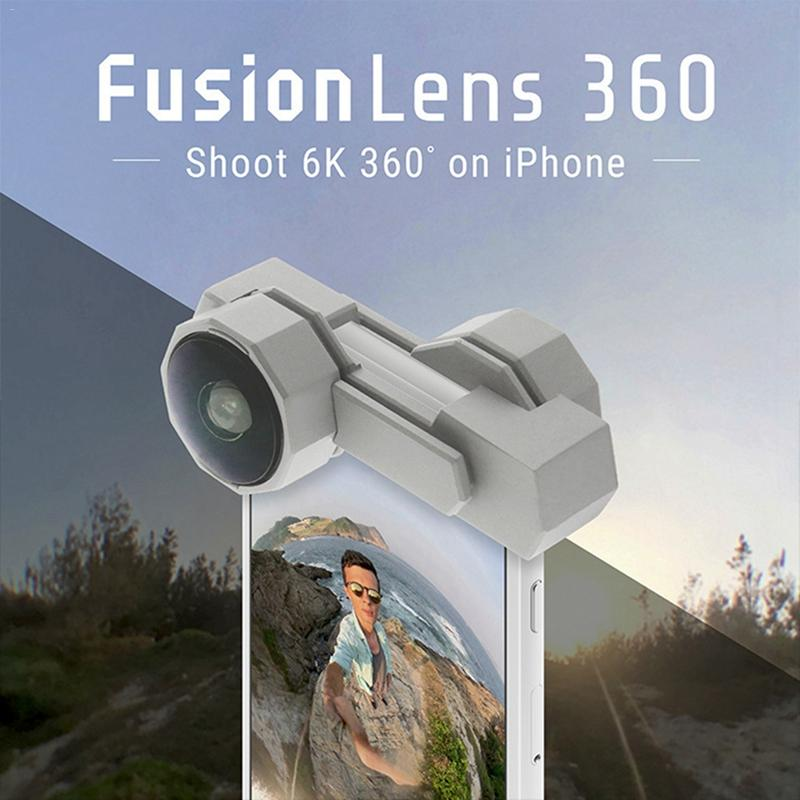 Fusion Lens 360 Degree Panoramic Mobile Phone Lens For iphone7/8/iphone7plus/8plus Dropship 7.5