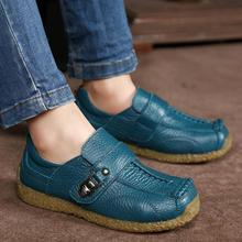 Zapatos para niños, mocasines de cuero genuino para fiesta de boda, zapatos de colegio para niños, mocasines negros Oxford Vintage, novedad