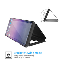 Case For Oneplus 6 6T Case Smart Mirror Flip For Oneplus 7 7 Pro Cover For Iphone 6 7 8 Plus X XS XR Max Case