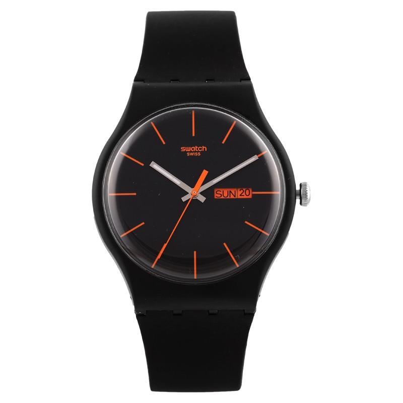 Swatch Colorful Quartz Watch SUOB704 swatch original colorful quartz watch suob135