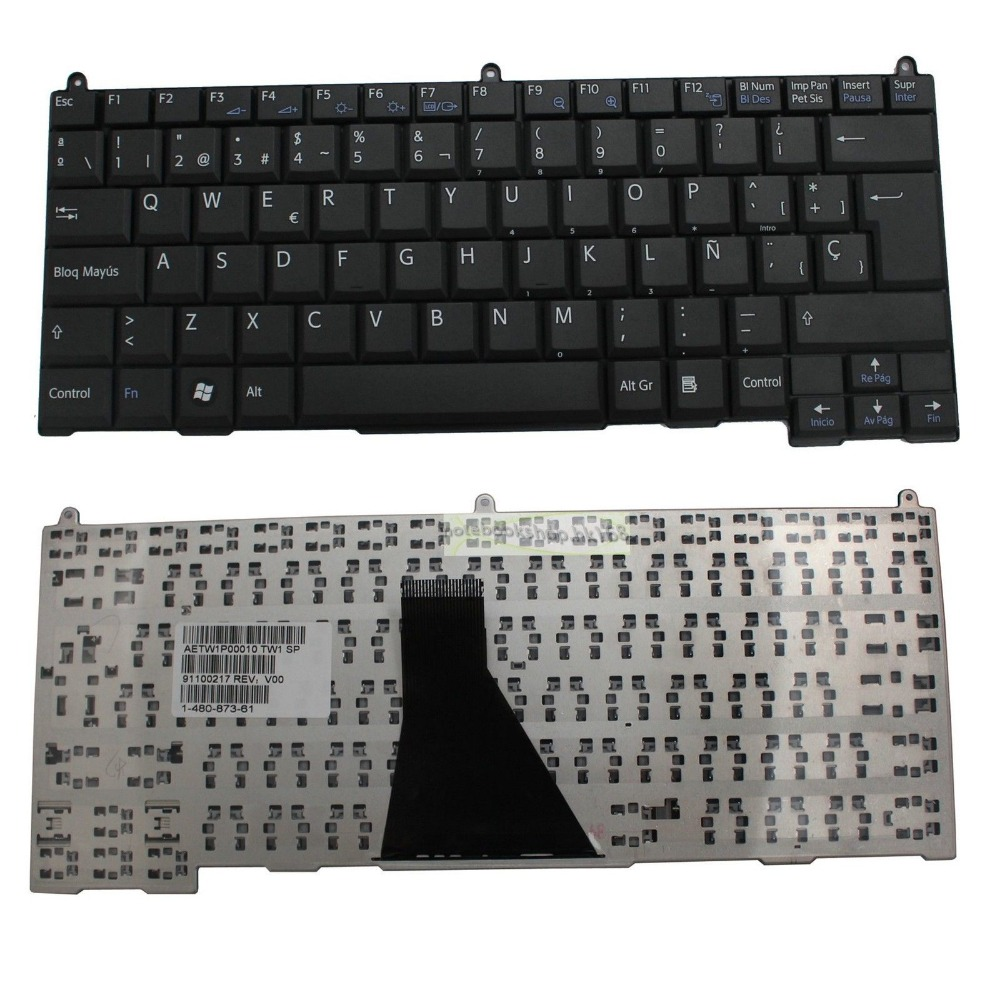 New notebook Laptop keyboard for Sony VGN-BZ VGN-BZ11XN Series    SP  layout