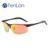 TenLon Seme-Sem Aro de Óculos POLARIZADOS Óculos De Sol Dos Homens óculos de sol gafas óculos de sol óculos com lente revestimento anti uv 400 eyewear