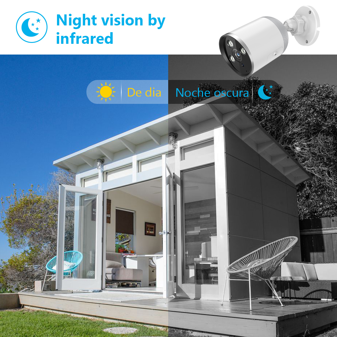 1080P IP66 Waterproof Outdoor Bullet Camera - YCC365 8