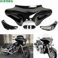 Передняя Наружная маска для мотоцикла  обтекатель летучей мыши с лобовым стеклом для Hyosung Triumph Виктори Harley Suzuki Yamaha V-star