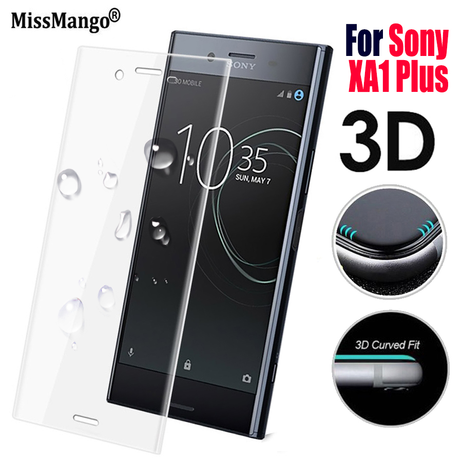 Protective Glass On For Sony Xperia Xa1 Plus Screen Protector The Xperia Xa 1 Xa1plus 1xa Ax Tempered Glas Film ScreenProtector