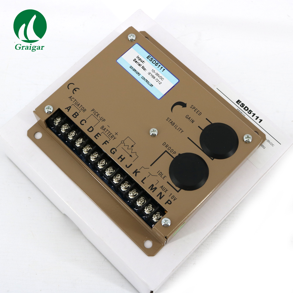 Engine Speed controller ESD5111 Generator parts engine speed controller esd5111 5pieces generator parts