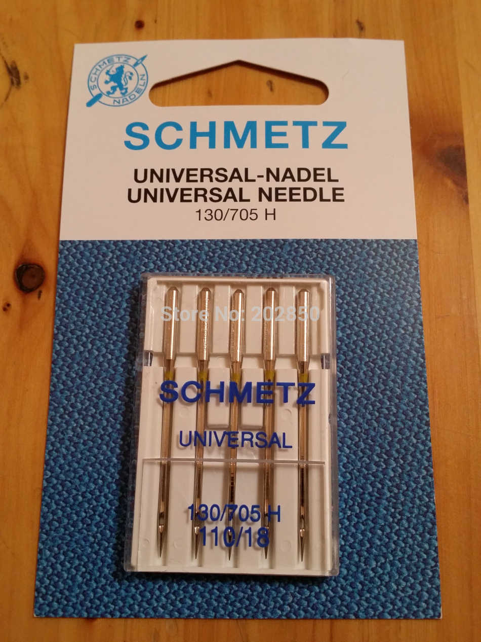 SCHMETZ UNIVERSAL Needle,130/705H,10Pcs Needles(2 packs)/Lot,Domestic Sewing Machine Parts,For Janome,Brother,Singer,Bernina..
