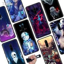 undertale papyrus sans doggo Black Soft Case for Oneplus 7 Pro 7 6T 6 Silicone TPU Phone Cases Cover Coque Shell