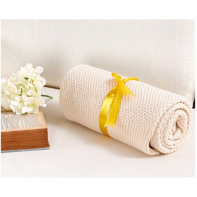 Детское Одеяло 100% Хлопок Вязать Шерстяной Платок теплый Детское Одеяло шерстяное одеяло Для Диван-Кровать Покрывало Банные Полотенца Игровой Коврик подарок