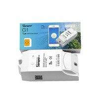 Sonoff G1 WiFiสมาร์ทสวิทช์GPRSสวิทช์GSM wifiควบคุมสำหรับสมาร์ทบ้านอัตโนมัติปั๊มน้ำไฟกลางแจ้งใช