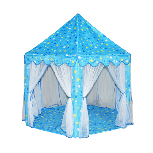 Portable Children Tent Princess Castle Activity Fairy House Kids Play Tent  Funny Indoor Outdoor Playhouse Baby