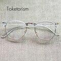 Personalizada diseñador de moda gafas de marco transparente para hombre y mujer 5108
