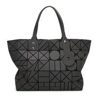 Lady Handbags Women Famous Brands Shoulder Bag 2017 Designer Laser Bag Geometric Luminous Female Hand Bags