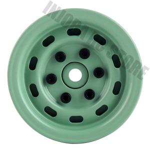 "Image 3 - 4PCS 1.9"" Metal Beadlock Wheel Rim for 1/10 RC Crawler Car Axial SCX10 Tamiya CC01 D90 Defender Traxxas TRX 4 Wheel Hex"