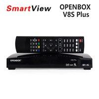 Chính hãng Openbox V8 Cộng Với DVB-S2 Vệ Tinh Kỹ Thuật Số Receiver Hỗ Trợ Xtream IPTV USB Wifi Youtube Youtube USB Wifi Biss Key CCCAMD NEWCAMD