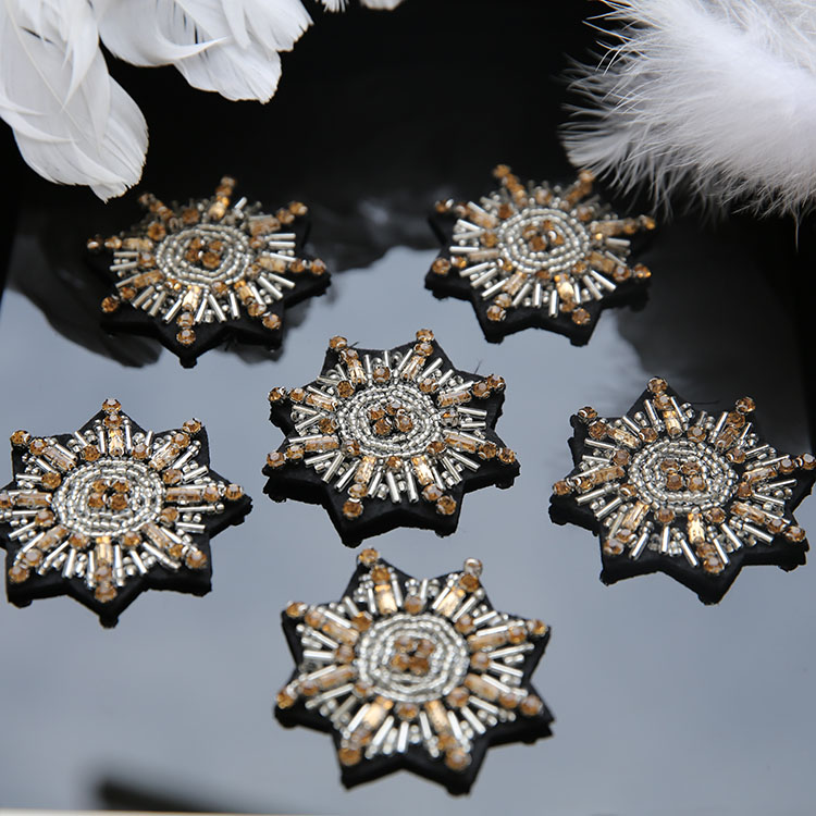 Nail bead heavy Patch clothing textiles decoration diy nail bead applique clothing shoes and hats package diamond jewelry patch
