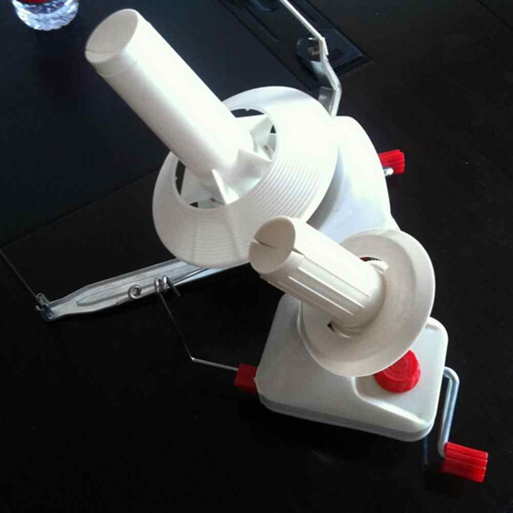 الخياطة سويفت الغزل الألياف سلسلة الكرة الصوف ويندر حامل المنزلية اليد تعمل كابل إبرة لف آلة أدوات اكسسوارات