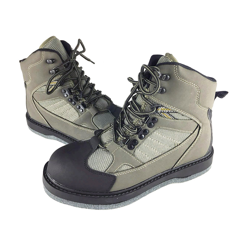 Fly Fishing Shoes Felt Sole Waders Aqua Upstream Hunting Sneakers Wading Boot Breathable Rock Sport No
