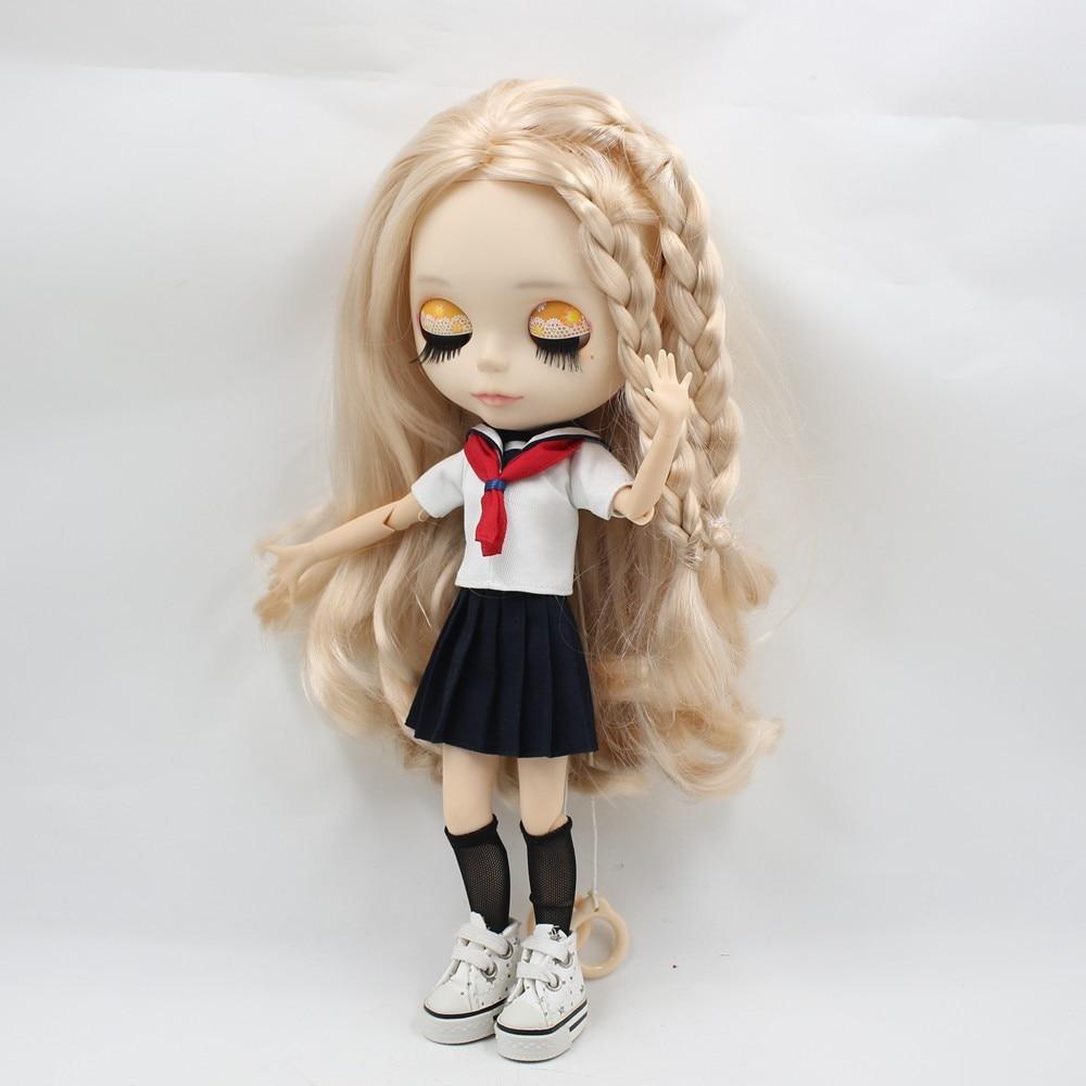 Neo Blythe Doll Sailor Uniform With Leggings 5