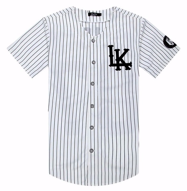 f21b653ee88 Kanye West New 07 Last Kings Baseball T-shirt Jersey Trend Fashion Hip Hop  Men Women Clothes tyga last kings Clothing