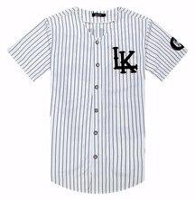 Kanye West New 07 Last Kings Baseball T-shirt Jersey Trend Fashion Hip Hop Men Women Clothes tyga last kings Clothing