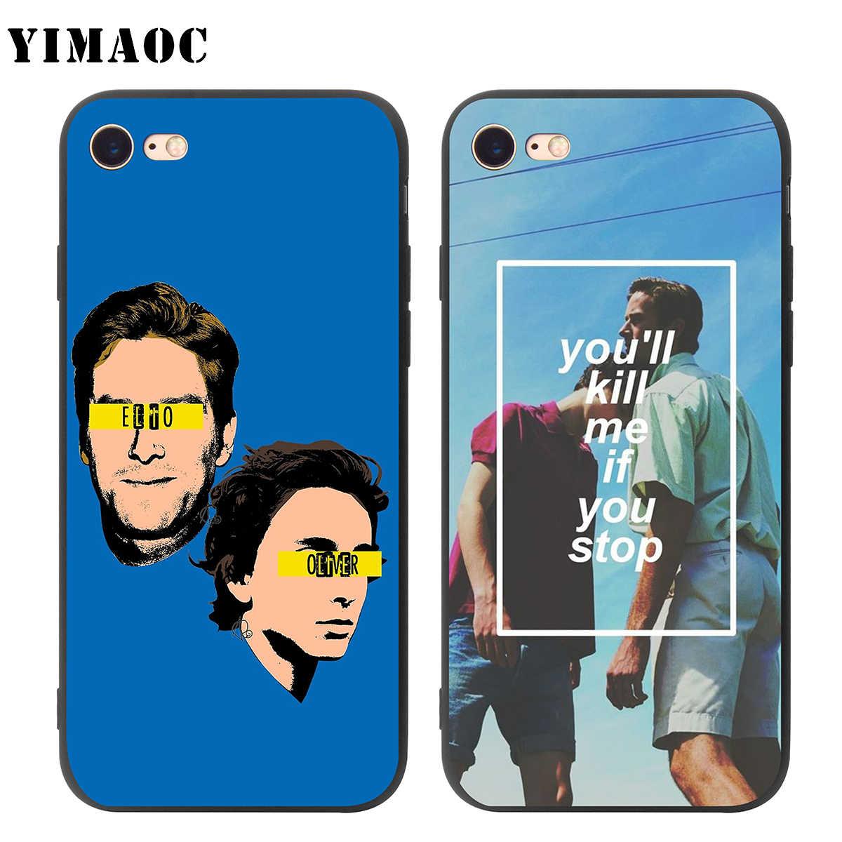 YIMAOC Call Me โดยของคุณชื่อนุ่มซิลิโคนสำหรับ iPhone 11 Pro XS MAX XR X 8 7 6 6S PLUS 5 5s SE