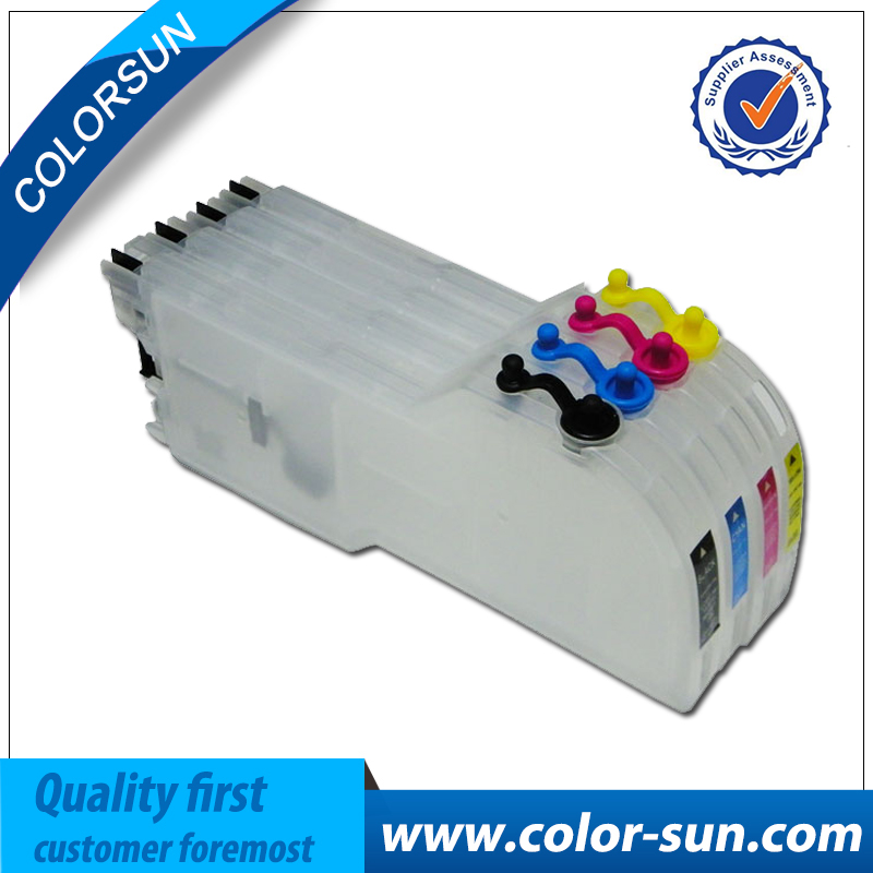 Ink cartridge for Brother LC39/LC985/LC38/LC61/LC980/LC990 long refillable ink cartridge for Brother DCP-J125,DCP-J315W printer 10pk free shipping for brother lc71 ink cartridge lc71 printer ink for brother 100