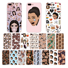 Kimoji Kim Kardashian kanye west north kylie jenner Soft TPU phone case for iphone 6s 6 7 8 plus x xr xs max 5 5s se cover shell