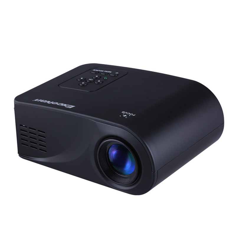 Prix pour 2017 Nouveau X6 Mini Portable Multimédia Projecteur LCD Full HD Soutien HDMI/USB/AV/VGA/SD Interface Home Cinéma Projecteur