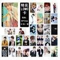 Kpop bts bangtan meninos v mood for love youngforever cartão iomo 30 kit K-pop bts Fotos Livro cartão Presente lembrança k pop bts cartão postal